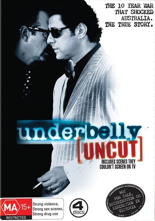 Underbelly Season 1. The original and the best. Means more when you lived through it.
