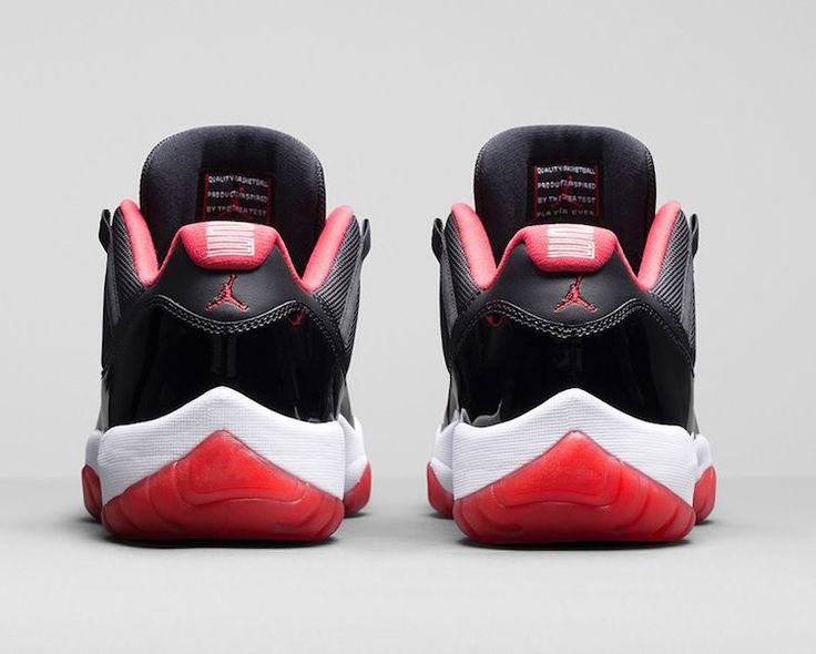 new concept 09365 ac6fa ... 12 barn basketskor gra 28243 Air Jordan 11 Low True Red Official Images  ...