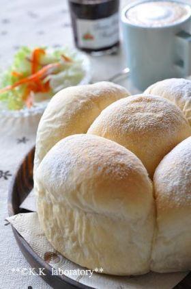「朝食のためのふんわり白パン」nonnon | お菓子・パンのレシピや作り方【corecle*コレクル】