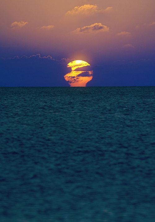 sunsetPinterest Pictures, Moon, The Ocean, Beautiful, Florida Keys, Cars Girls, Summer Night, Girls Style, Sunrises Sunsets
