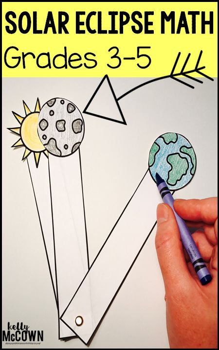 Are you ready for August 21, 2017? Download these Solar Eclipse Math Activities to share this ONCE IN A LIFETIME MOMENT with your students!