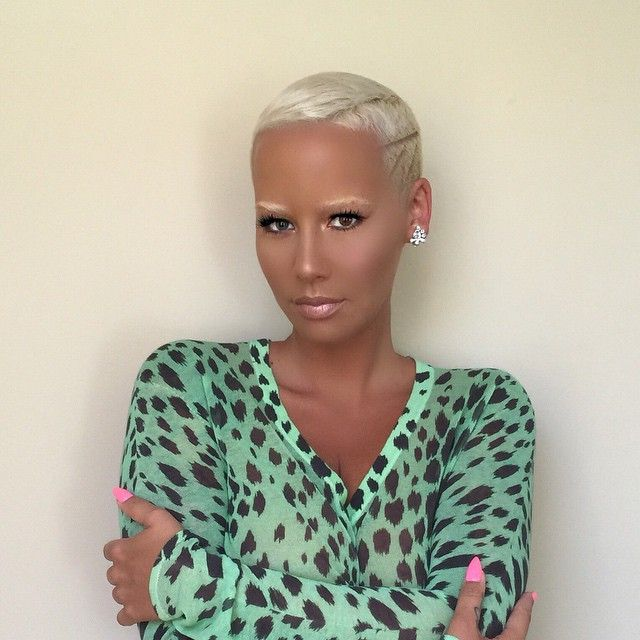 Amber Rose's New Look - Do We Love It? - http://urbangyal.com/amber-roses-new-look-do-we-love-it/