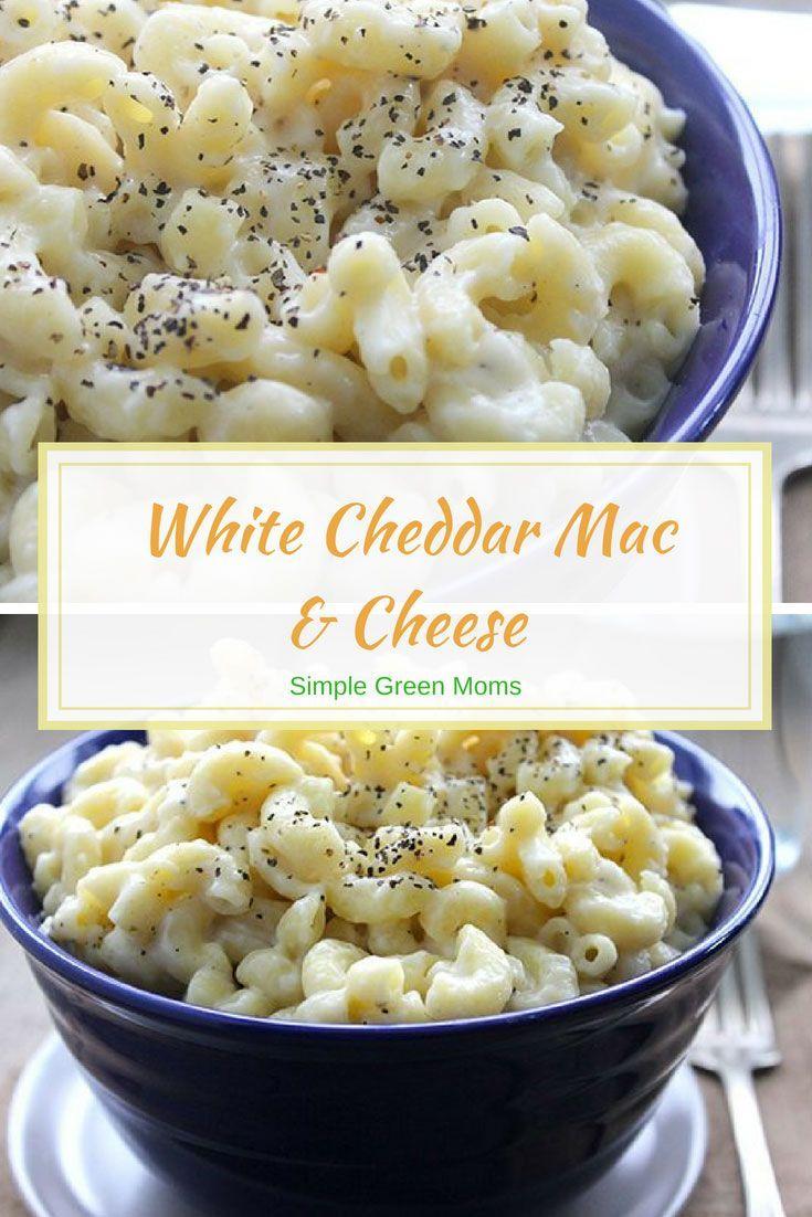 Creamy White Cheddar Macaroni Cheese Recipe White Cheddar