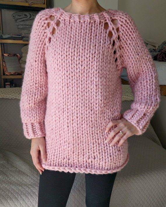 ec2ec7be1 Chunky Knit Sweater Pattern