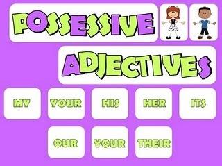 os pronomes possessivos substituem os substantivos