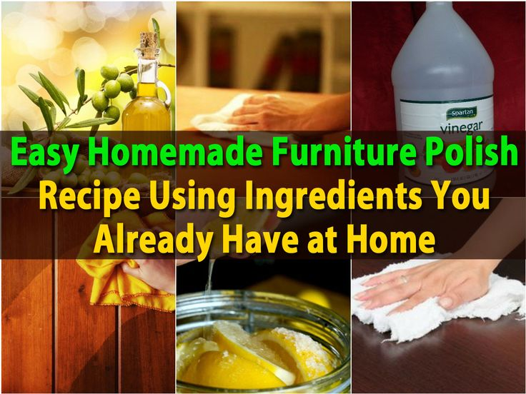 17 Best ideas about Homemade Furniture Polish on Pinterest  Homemade wood  cleaner, Hardwood floor cleaner and Natural window cleaners