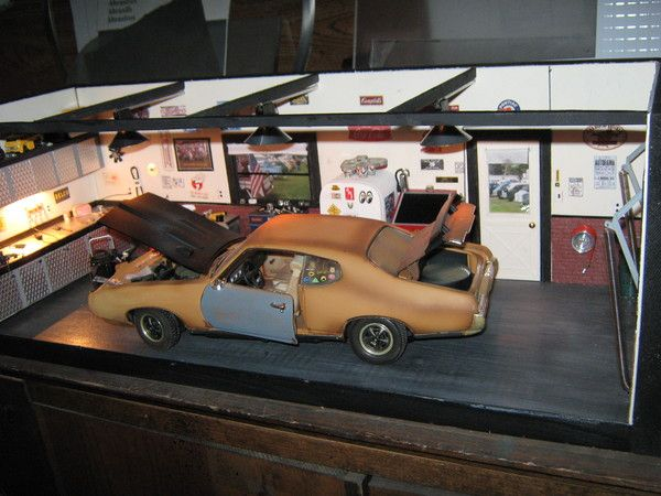 Miniature garage model kits bing images for Alaska garage kits