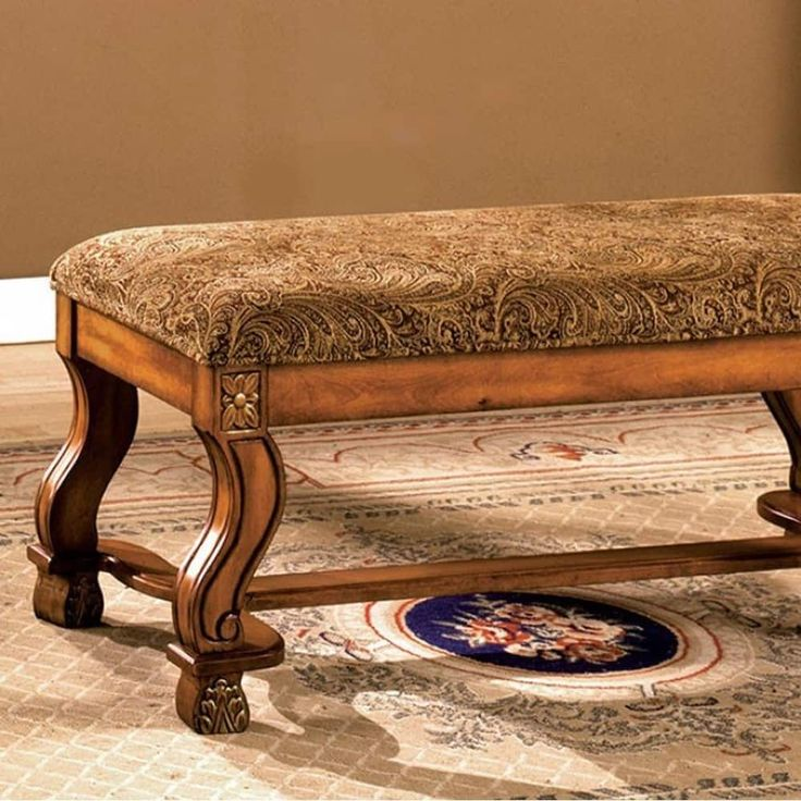 Benzara Vale Royal Traditional Bench