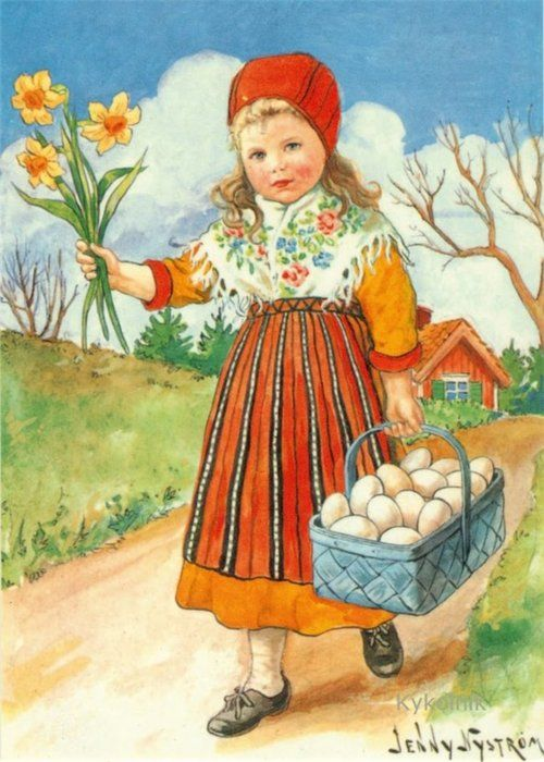 Easter - Jenny Nystrom.