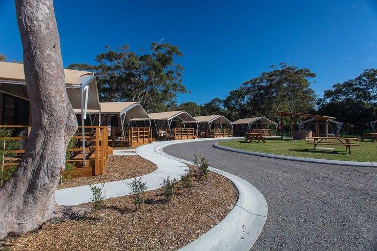 shoal-bay-holiday-park-safari-tents-complex Port Stephens