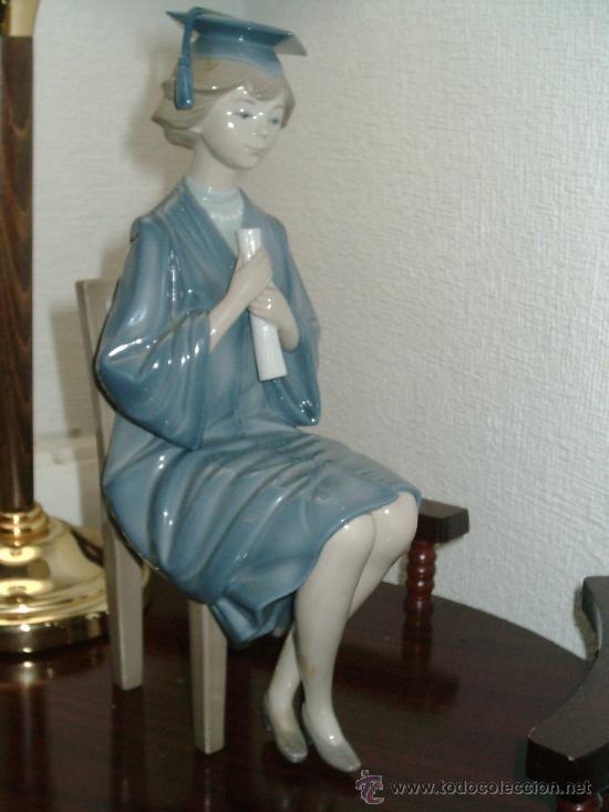 Figura de lladro graduada de francisco catala 1984 - Figuras de lladro precios ...