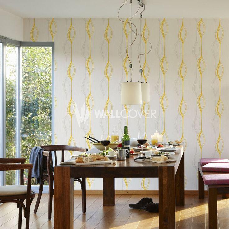 Swing Line 934752   AS-Creation Wallpaper   Satin