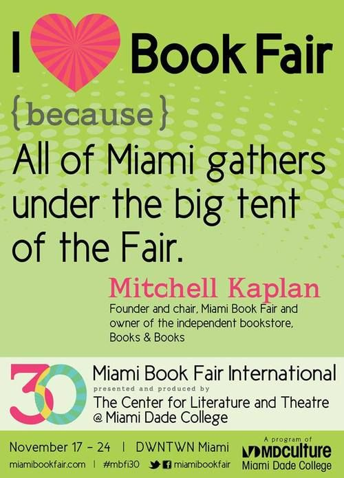 Mitchell Kaplan, Founder and Chair of Miami Book Fair International and owner of Books & Books #miami #bookstore