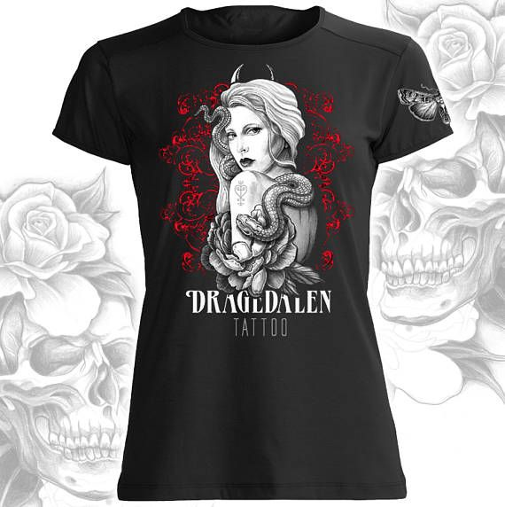 Our first ladies short sleeve Dragedalen tees. See our Etsy store to order yours. Limited edition. Only 20 of each. Enjoy!
