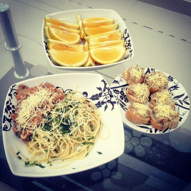 Tuna Fest!! Dinner special today with 'Tuna Island' and 'Turne Cheespart' and ofcourse with special dessert 'Baby Orange' #dinnerspecial #tuna #food #lovefood #yummy #pasta #homemade