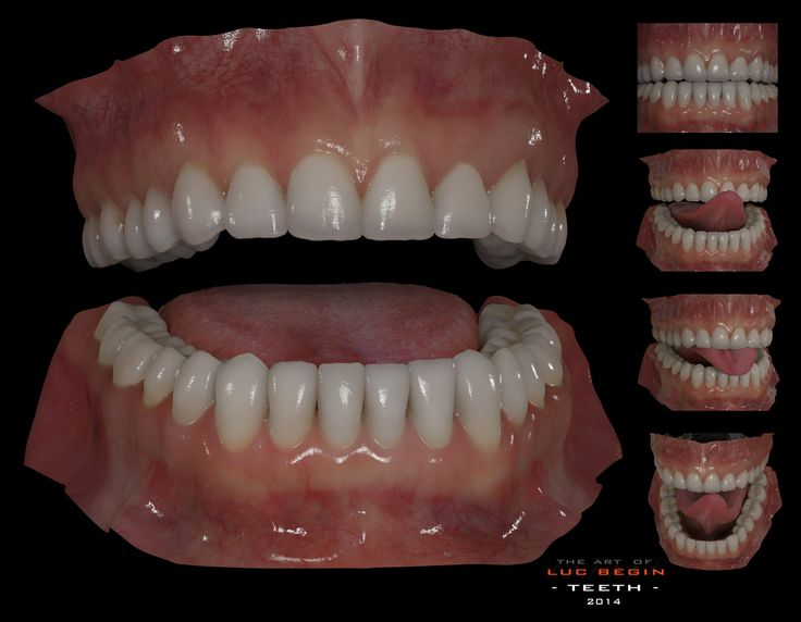 ArtStation - Generic Teeths., Luc Bégin