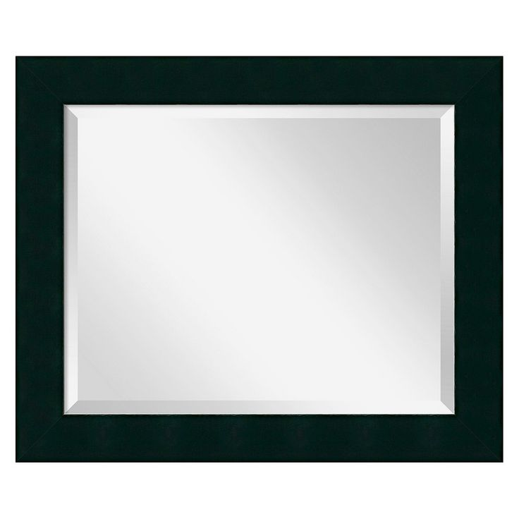 Amanti Art Corvino Wall Mirror   Marked By Modern Glamour, The J And S  Framing Corvino Wall Mirror Makes A Bold Statement.