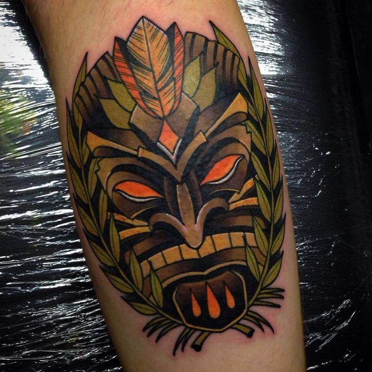 53 best tiki tattoos images on pinterest tattoos for men for Polynesian tiki tattoo