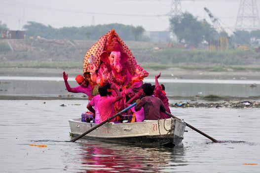 Stunning Photos Of Ganesh Chaturthi Festival