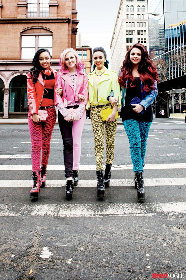 U.K. Sensations Little Mix Hit the NYC Streets for a Shopping Spree