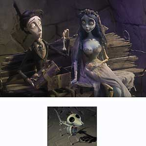 Tim Burton's Corpse Bride - A Bone of Scraps - Warner Brothers Fine Art - World-Wide-Art.com - #disney #timburton #corpsebride