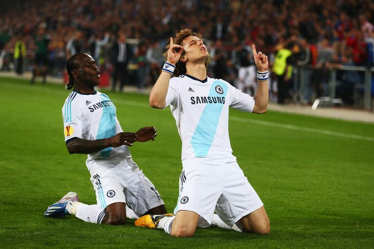 David Luiz - FC Basel 1893 v Chelsea