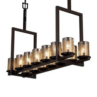 Griffin Rectangular 14-light Chandelier - Overstock Shopping - Great Deals on Chandeliers & Pendants