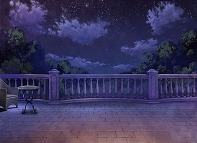 Balcony scenery background anime background anime for Balcony wallpaper
