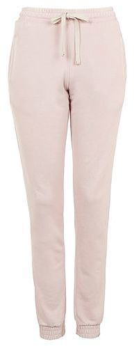 Womens blush burnout jogger - pale pink, pale pink from Topshop - £25 at ClothingByColour.com
