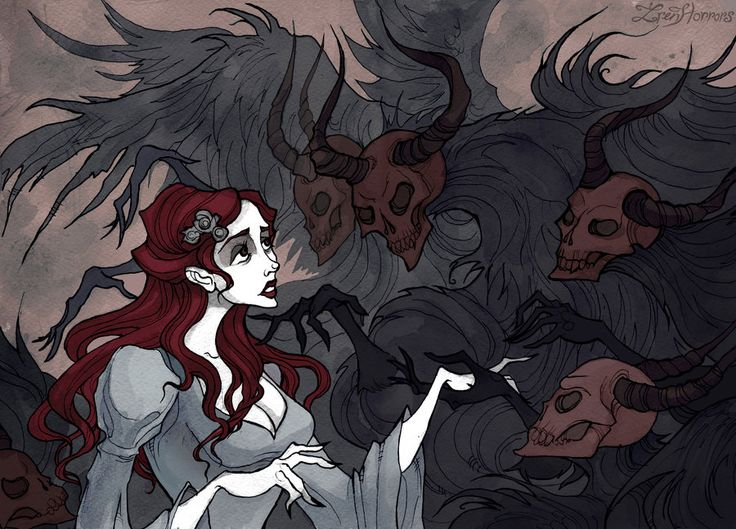 Give Yourself to the Darkness by IrenHorrors.deviantart.com on @DeviantArt