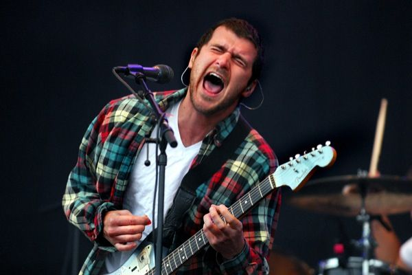 Jesse Lacey, Brand New. Amazing songwriter for an equally amazing band. Love these dudes.