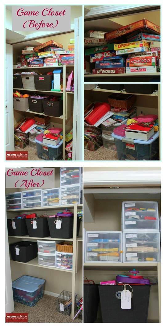 Organise your board games etc. I might keep the boxes in the loft in case I want to sell them/give away in the future.   Would like to do this soon