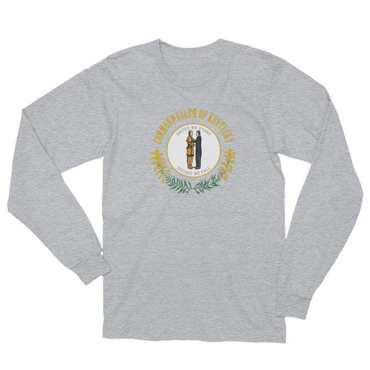 Kentucky Flag Long-Sleeve Shirt