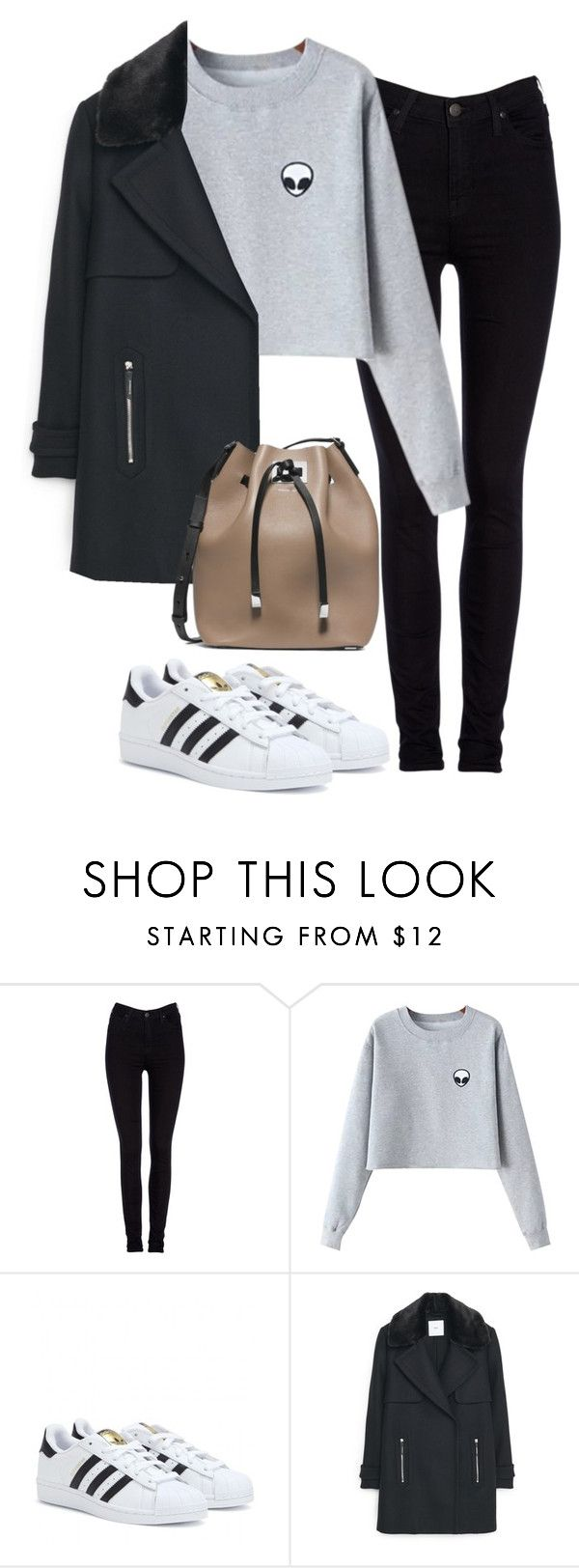 """Untitled #466"" by christyandnef on Polyvore featuring Lee, Chicnova Fashion, adidas, MANGO, Michael Kors, women's clothing, women, female, woman and misses"