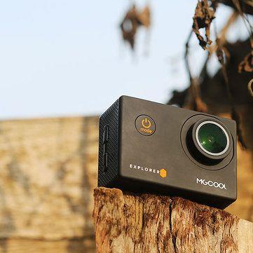 MGCOOL Explorer ES 3K Action Camera Allwinner V3 Sport DV Cam 170 Degree Wide Angle Sale - Banggood.com