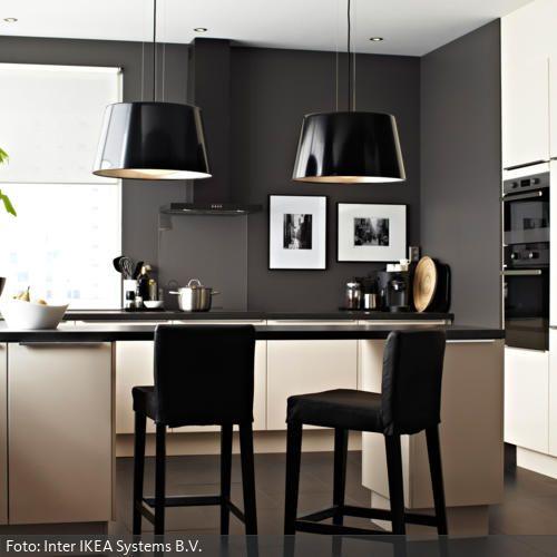 17 best ideas about küche schwarz weiß on pinterest | muse live, Hause ideen