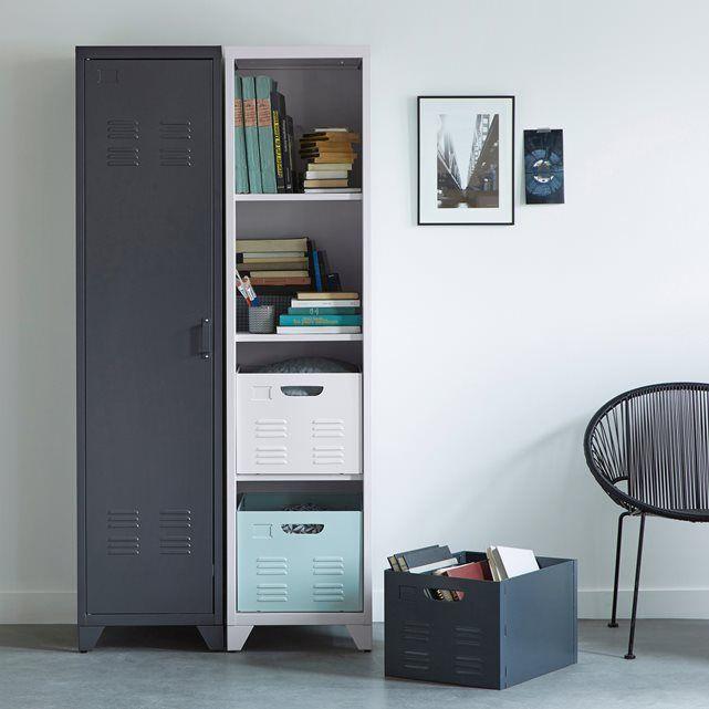 Image Meuble Bas 2 Portes En M Tal Hiba La Redoute Interieurs Entry Storage Pinterest