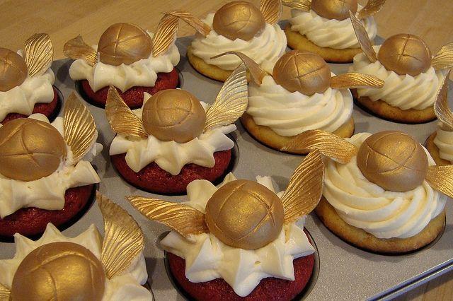 Harry Potter cupcake ideas