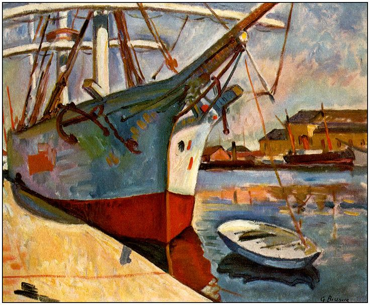 Ship at Le Havre, 1905 - Georges Braque (French, 1882-1963)