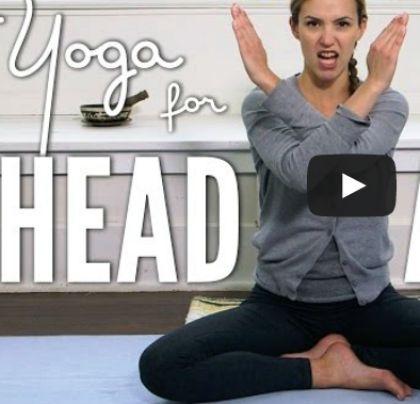 Jóga gyakorlatok fejfájás ellen – Jógázás
