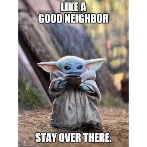 Chip And Co On Instagram Disney Babyyoda Babyyoda Babyyodamemes Babyyodameme Disneygram Funny Memes Yoda Funny Yoda Meme Coffee Humor