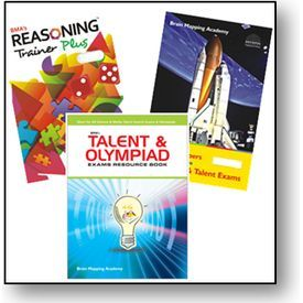 Buy Class 3- BMA's Talent & Olympiad Exams Resource Book+ Model Papers+ Reasoning trainer online - olympiadtester.com