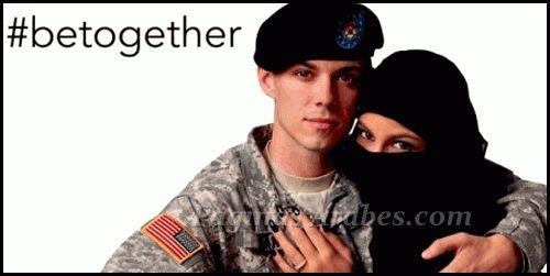 Anuncio de un soldado de EU y su pareja musulmana crea controversia - paginasarabes