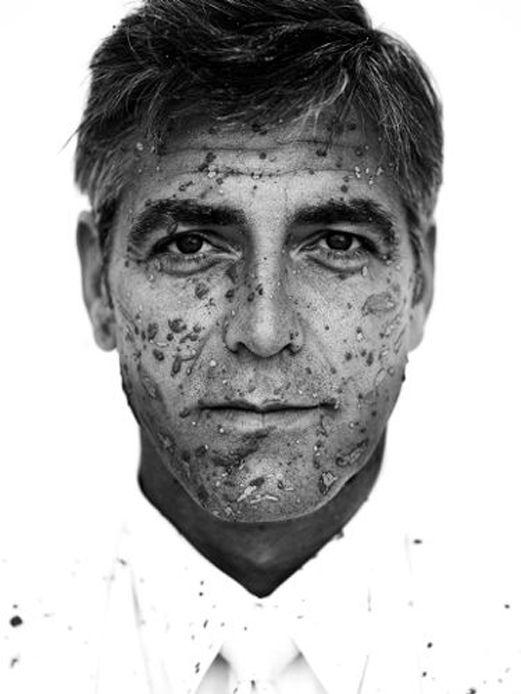 #portrait feat. George Clooney by Jean-Baptiste Mondino