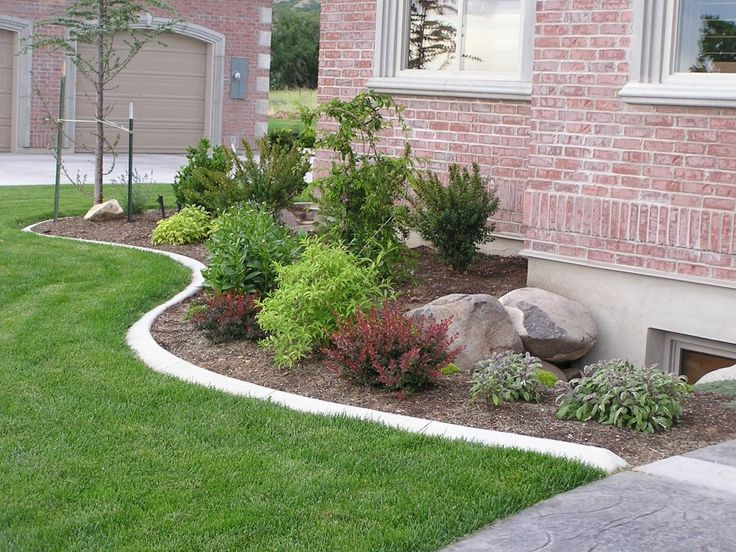 enhancing with curves, JM, contrasting shrubs with some repetition