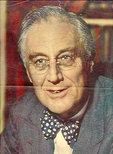 Franklin Roosevelt Wearing Glasses | Annie costume