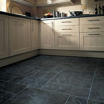 Floor360 suggests karndean opus atlantic slate ren21 for Vinyl flooring kitchen