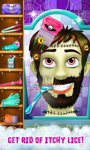 Welcome back to the Hairy Face Salon! The most fashionable and fun monster salon on the Google app store! These adorable monsters need a scary cool makeover for their first day of high school! Can you help style them?! Run your own salon! Shave, tweeze, w