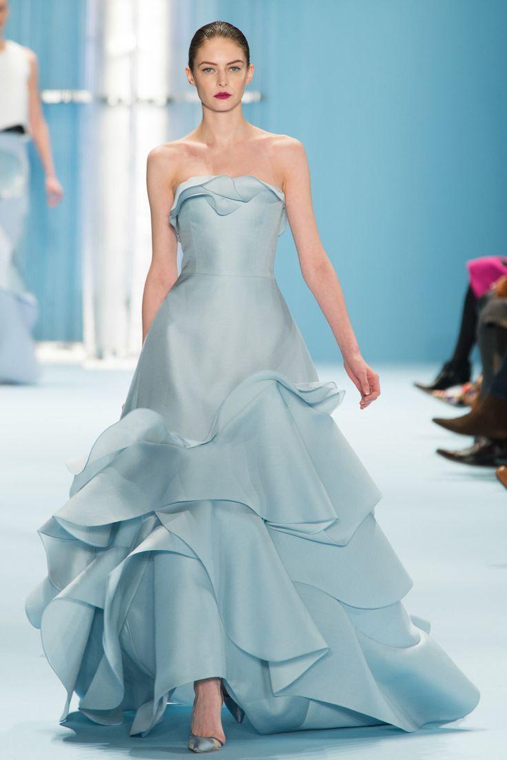 Carolina Herrera - Fall 2015 Ready-to-Wear | Fashion 2015/2016 | Pinterest | Carolina herrera, Dresses and Fashion