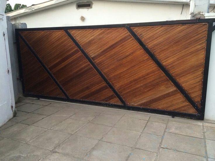 1000 ideas about portail en bois on pinterest portal portail aluminium coulissant and. Black Bedroom Furniture Sets. Home Design Ideas